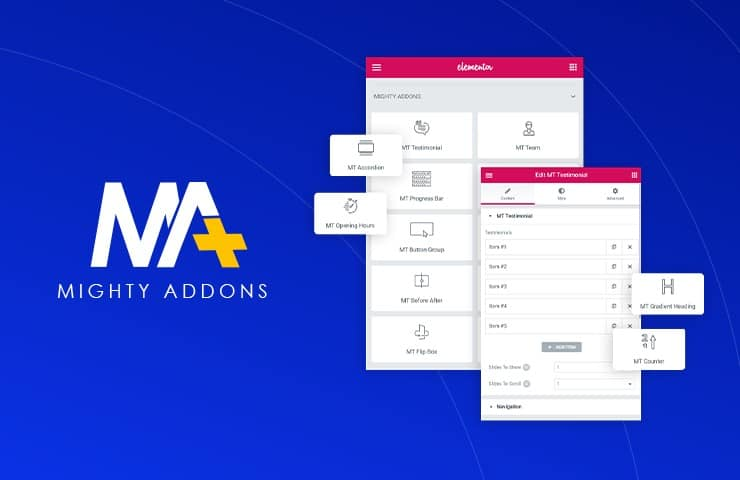 Mighty Addons for Elementor