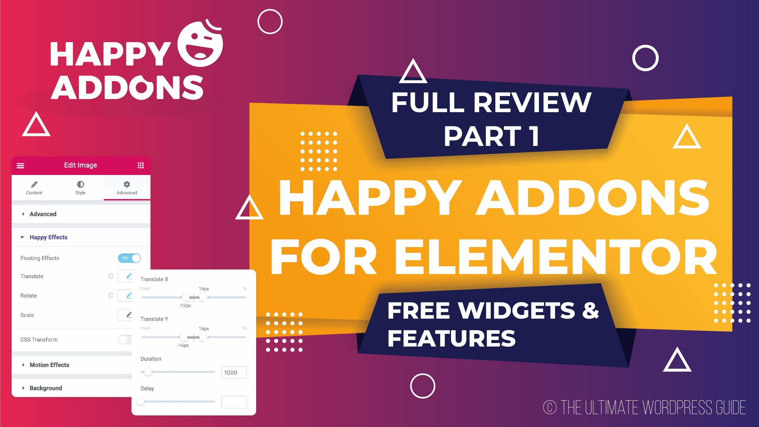 Happy Addons for Elementor - Free Widgets & Features