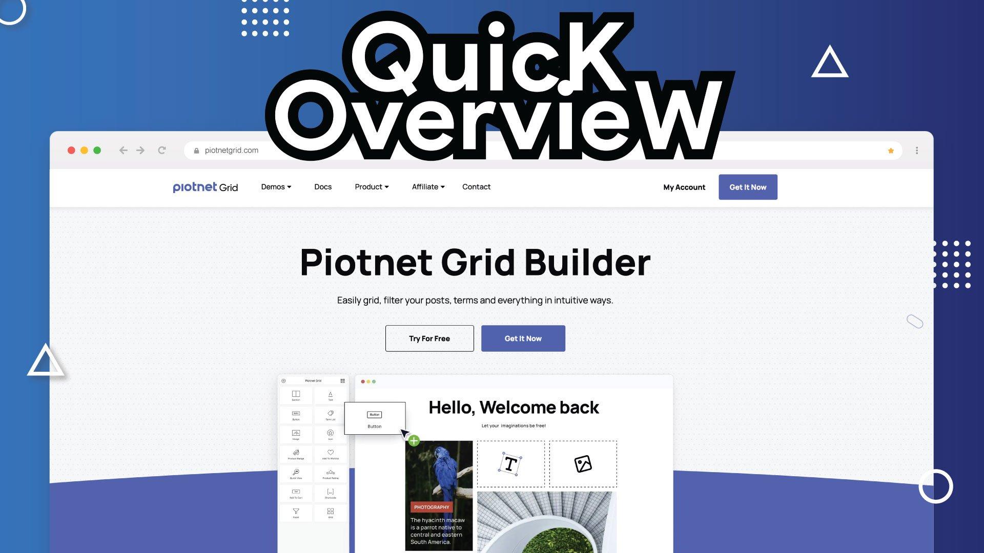 PiotnetGrid Overview